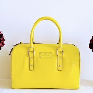Kate Spade Patent Leather Melina Bag